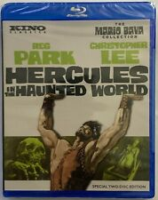 NEW HERCULES IN THE HAUNTED WORLD SPECIAL EDITION BLU RAY 2 DISC KINO CLASSICS