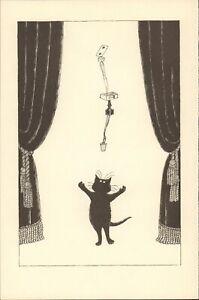 Edward Gorey, Edward Gorey Cat, Cat Owner Gift, Best Cat Lady Gifts, Funny Bathr