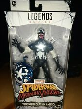 "Venomized Captain America 6"" figure 2020 Hasbro Marvel Legends Walmart Exclusive"