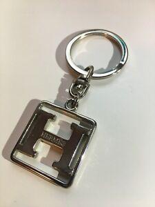 HERMÈS Silver Keychain
