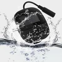 4GB Waterproof Clip MP3 FM Radio Music Player Sport Swimming Headphone Earphones
