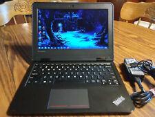 "Lenovo ThinkPad 11e 20ED Laptop 11.6"" Quad Core AMD A4-6210@1.8GHZ 4GB 500GB AC"