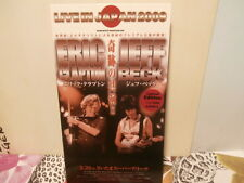 "eric clapton/jeff beck""live in japan 2009""box de 4 dvd.japan.+ livret.ltd 500 ex"
