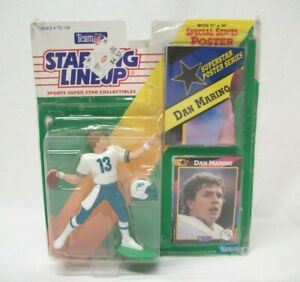 Dan Marino Collectible Action Figure with Poster Starting Lineup by Kenner 1992