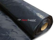 BLACK DAMP PROOF MEMBRANE, SHEET 4Mx25M - 1200GAUGE/300 MICRON - HEAVY DUTY