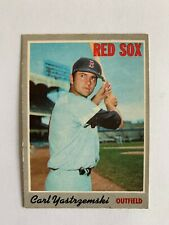 1970 O-Pee-Chee #10 Carl Yastrzemski - Boston Red Sox