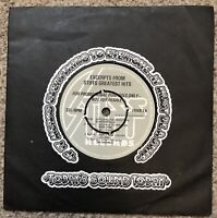 """The Damned Excerpts From Stiffs Greatest Hits Promo 7"""" EP Punk Sex Pistols"""