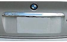 Chrome Rear Trunk lid boot Trim molding fits BMW E46 Sedan