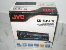 JVC KD-X351BT Bluetooth Digital Media Receiver w/ Streaming DJ & Spotify Control