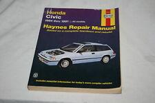 HAYNES Honda Civic 1984-1991 Repair Manual Softcover