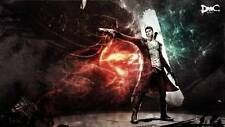 POSTER DEVIL MAY CRY 2 3 4 5 DANTE DMC PS3 XBOX 360 VERGIL DANTE'S AWAKENING #2