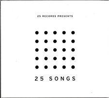 25 Records Presents 25 Songs -2CD-  NEU+VERSCHWEISST/SEALED!