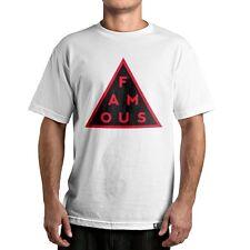 Famous Stars and Straps Black Mass Men's Tee Triangle FSAS Logo T-shirt Street