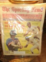 SPORTING NEWS METS YANKEES FOSTER COLLINS GRIFFEY April 17, 1982