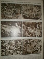 Photo article WWII RAF precision bombing Salbris Maintenon Mailly 1944 ref AO