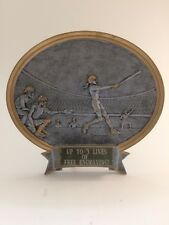 Female Oval Softball Plate Trophy! Free Engraving! Ships In 1 Business Day!