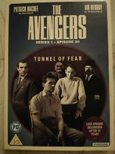 The Avengers: Series 1 - Episode 20 - Tunnel Of Fear (DVD) Patrick Macnee