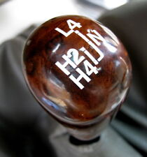 Walnut HILO Ratio 4x4 Box gear knob TOYOTA HILUX mk6 Vigo transfert Wood Pickup
