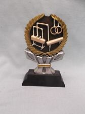 Gymnastics male trophy award resin full color Ric871