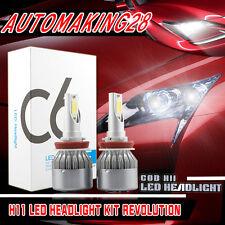LED Headlight Conversion Light Kit Low Beam Bulbs For 2008-2016 NISSAN Rogue
