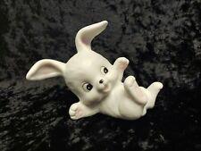 Vintage Homco -White Bunny Original Sticker
