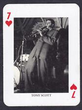Tony Scott Jazz Legends Single playing card