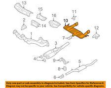 AUDI OEM 04-06 TT Quattro 3.2L-V6-Muffler 8N0253609AB