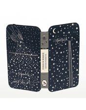 NWOT Carnet De Bon Contes Edition Poshette Leather Wallet Etoiles de Bonheur