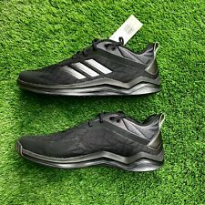 Adidas Speed Trainer 4 Shoes CG5135 Black Carbon Men's 14 US NEW