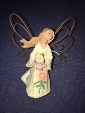 Nwt Roman Angel Accents Birth Month Flower Ornament: September Aster