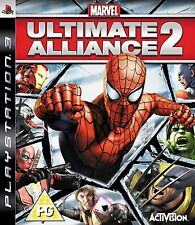Marvel Ultimate Alliance 2 [PlayStation 3 PS3, Region Free, Action RPG] NEW