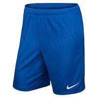 Nike Boys Shorts Park Junior Football Training Pants Running Kids Size S M L XL