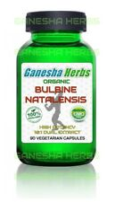 100% PURE & CERTIFIED BULBINE NATALENSIS 10:1 HIGH POTENCY EXTRACT 90 CAPSULES!