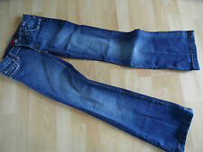 BLUE CULT coole used look bootcut Jeans Gr. 26  TOP (KN 514)