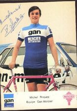MICHEL ROQUES cyclisme ciclismo Signée Equipe GAN MERCIER 70s Cycling autographe