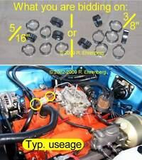 Mopar: Correct Crimp-Type Fuel Line Hose CLAMPS Oetiker Keystone 340 360 426 440