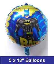 "5 X 18"" Batman Foil Balloons Birthday Party Decoration /Any Occasion (#B)"