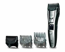 Panasonic ER-GB80 Beard Hair and Body Trimmer Wet Dry 40x lengths 3 Attachments