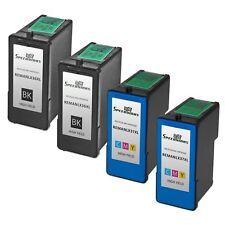 4pk Lexmark 36XL 37XL HY Ink Cartridge Black & Color Set Z2420 X6675 X6650 X5650