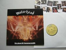 Motörhead – No Sleep 'til Hammersmith LP GERMAN 1. Press 1981 OIS EX