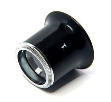Uhrmacher Augenlupe Uhrmacherlupe Okular 10-fache Vergrößerung NEU