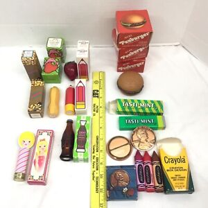 FULL NEW Vintage NOS Collectible AVON LIP GLOSS 1970s CHOICE Funburger CokePenny