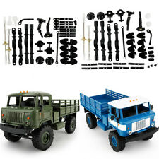 1/16 WPL 4WD RC Crawler Military Truck DIY Assemble Kit OFF-Road Vehicle 2.4Ghz