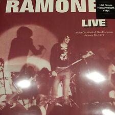 """Los Ramones """"en vivo en el Antiguo Waldorf"""" San Francisco enero 1978 Totalmente Nuevo Vinilo Lp"""