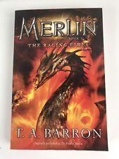Merlin Saga Book 3 The Raging Fires by T. A. Barron 1998 USA Format PB