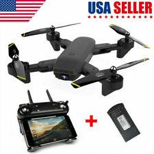 S169 Drone Selfie WIFI FPV Dual HD Camera Foldable RC Quadcopter Kids Boy Toy