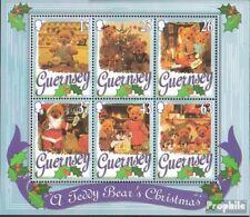 Verenigd Koninkrijk-Guernsey Blok 20 postfris 1997 Kerstmis
