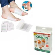 10 x Kinoki Detox Foot Patches Pads Body Toxins Feet Slimming Cleansing Herbal