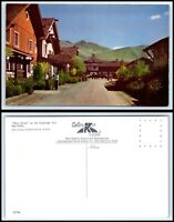 IDAHO Postcard - Sun Valley, Main Street at The Challenger Inn Q56