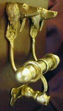 Saluki Dog Bronze Duet Door Knocker